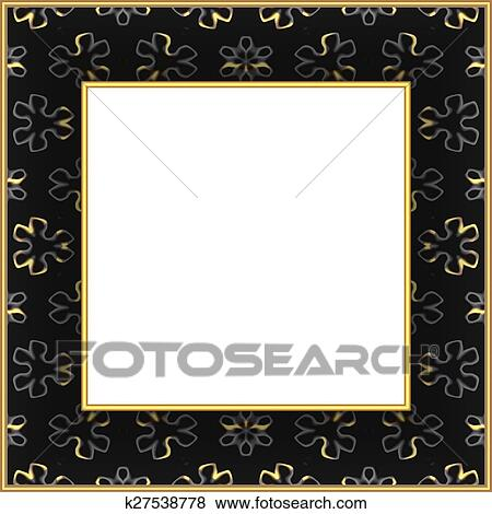 Stock Illustration of Frame For Painting k27538778 - Search EPS Clip ...
