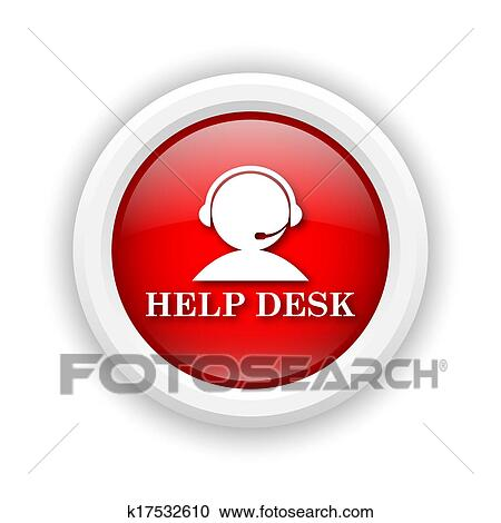 Stock Illustration   Helpdesk Icon. Fotosearch   Search Clipart,  Illustration Posters, Drawings And