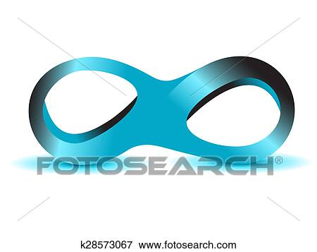 Picture Of Infinity Symbol Unlimited Sign Vector Icon K28573067