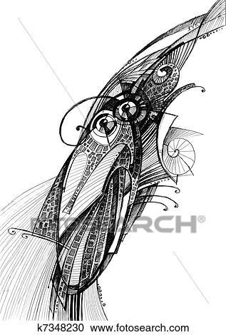 جرد خارق الرسم بقلم الرصاص ألبوم الصور K7348230 Fotosearch