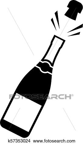Free Champagne Bottle Cliparts, Download Free Clip Art, Free Clip Art on  Clipart Library
