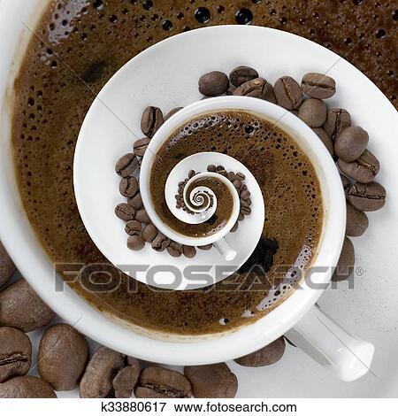 bild kaffeetasse meditatin k33880617 suche stockfotografie fotos drucke bilder und. Black Bedroom Furniture Sets. Home Design Ideas