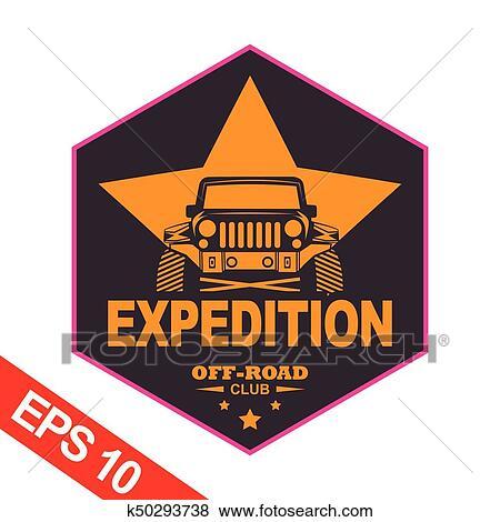 Montanha Expedições Logotipo Modelo Clipart K50293738
