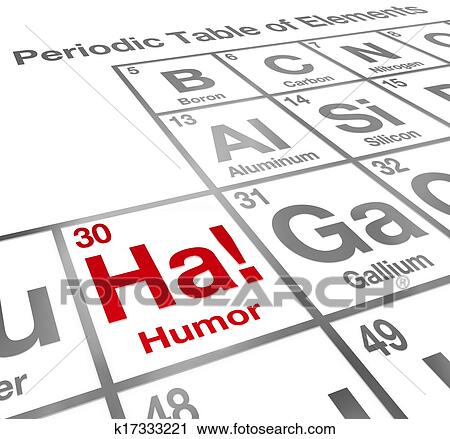 clipart of ha humor element periodic table funny laughter comedy rh fotosearch com periodic table clip art free periodic table clipart