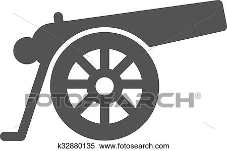 clipart of cannon k32880135 search clip art illustration murals rh fotosearch com clip art cannon on hill clip art cannon on hill