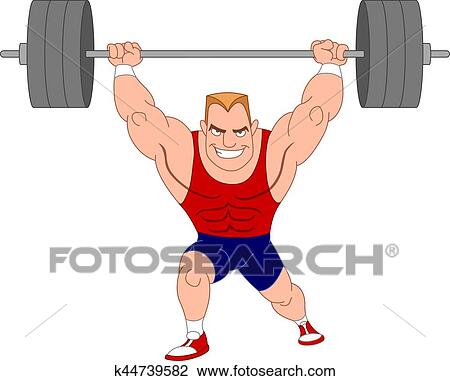 clipart of weightlifter k44739582 search clip art illustration rh fotosearch com weight lifter clip art weightlifter clipart free