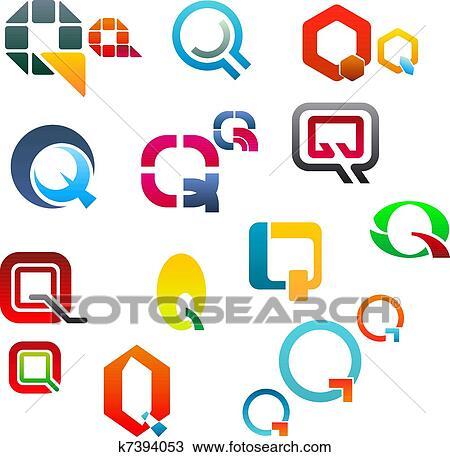 clipart of alphabet letter q k7394053 search clip art