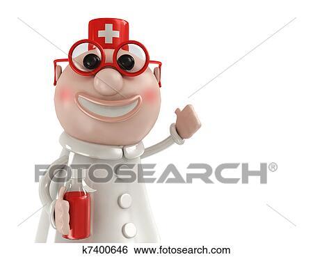 かわいい 医者 イラスト K Fotosearch