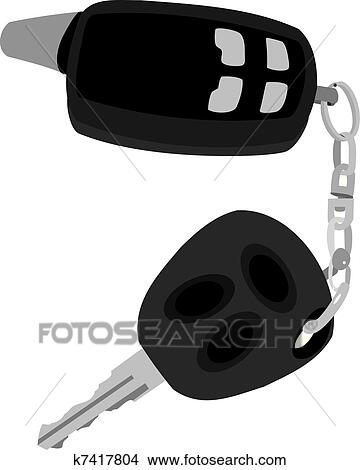 Free Car Key Clipart in AI, SVG, EPS or PSD