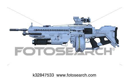 Dessin Fusil De Chasse dessin - fusil chasse k32847533 - recherchez des cliparts, des