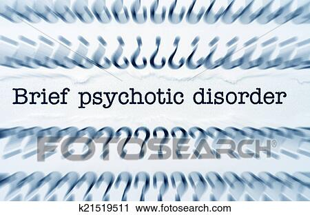 Stock Photography Of Psychotic Disorder K21519511 Search Stock
