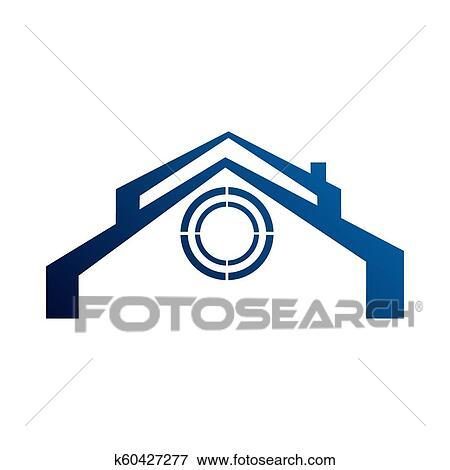 Realty Logo Design Vector Concept And Idea Real Estate