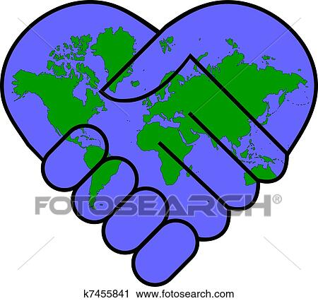 clipart of world peace k7455841 search clip art illustration