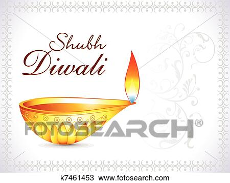 Clipart of abstract artistic diwali background k7461453 search abstract artistic diwali background vector illustration m4hsunfo