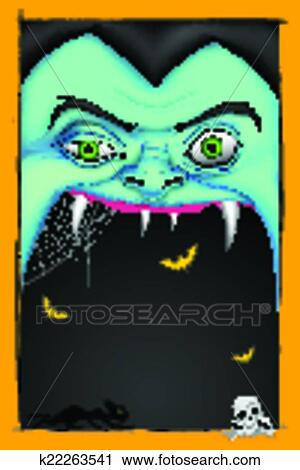 clipart of halloween message k22263541 search clip art