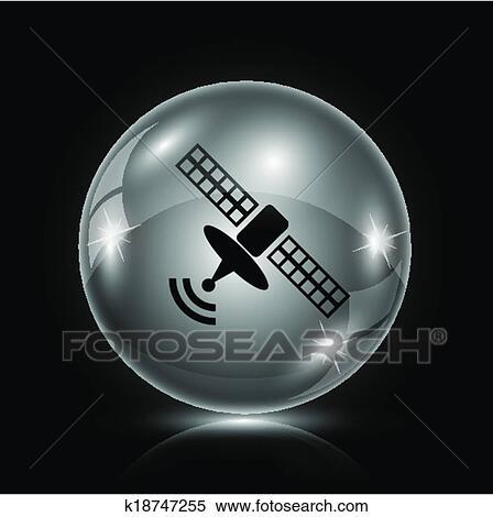 Clipart - antenne, symbol k18747255 - Suche Clip Art, Illustration ...