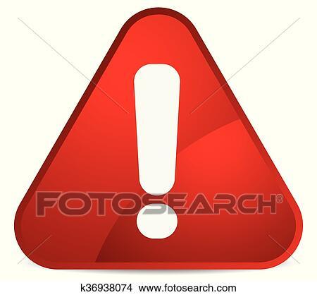Dessin Panneau Attention clipart - dessin animé, aimer, arrondi, avertissement, attention