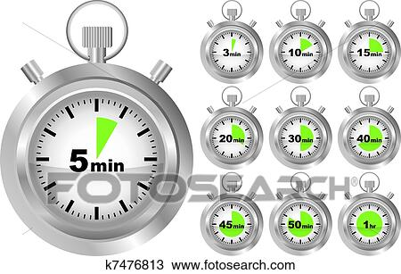 Clipart chronom tre minuteur k7476813 recherchez des - Chronometre et minuteur ...