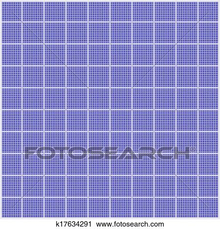 Clipart of white grid on blueprint paper tileable k17634291 search clipart white grid on blueprint paper tileable fotosearch search clip art illustration malvernweather Gallery