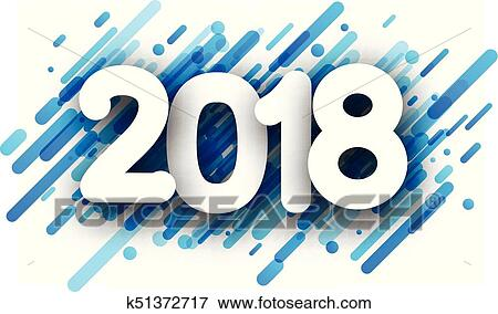 clip art blue 2018 new year background fotosearch search clipart illustration