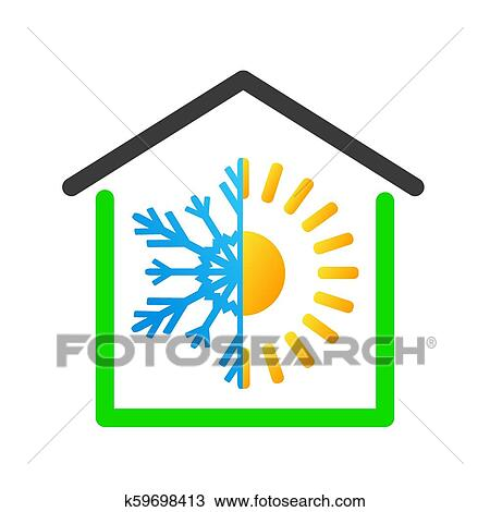 Warm House Icons Set Simple Set Stockillustration 1113849761