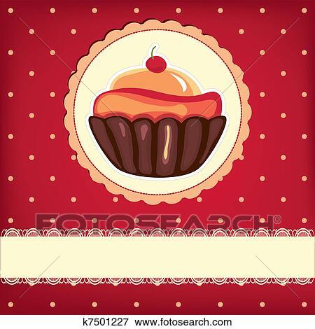Vintage Cupcake Sign - Free Transparent PNG Clipart Images Download