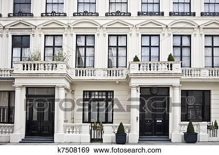 Banque de Photographies - style victorien, bâtiment, dans, londres ...