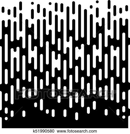 Clipart Of Vector Halftone Transition Abstract Wallpaper Pattern Inspiration Line Pattern Vector