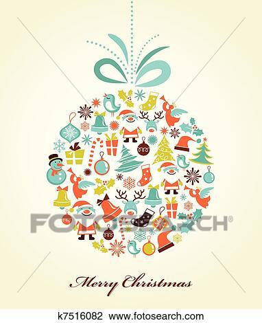 Weihnachten Hintergrund.Früher Weihnachten Hintergrund Mit Dass Weihnachten Kugel Clipart