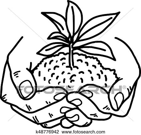 Plant Coloring Sheet - Coloring Home