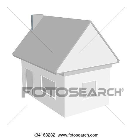 House Vector Illustration Clipart