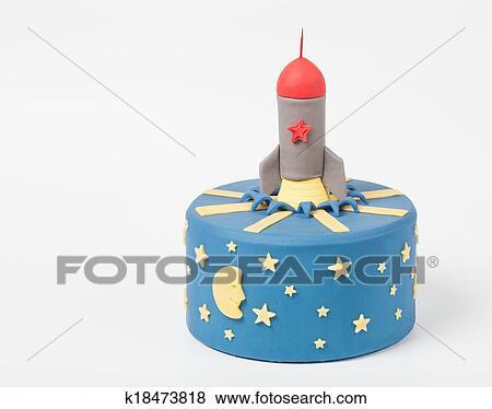 Bilder Sehr Schon Torte Fur Dass Junge Mit Dass Rakete