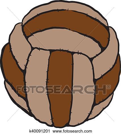 Alt Fussball Ball Clipart K40091201 Fotosearch