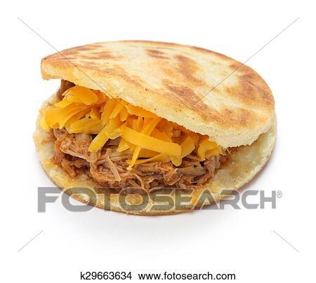 Stock Photo Of Arepas Venezuelan Colombian Food K29663634 Search