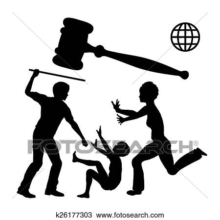 drawing of ban domestic violence k26177303 search clipart rh fotosearch com stop domestic violence clipart free stop domestic violence clipart