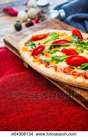 Pizza With Mozzarella Emmental And Cheddar Cheese Picture K64308134 Fotosearch,Part Time Data Entry Jobs From Home