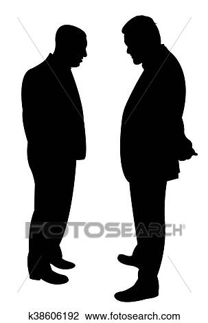 https://fscomps.fotosearch.com/compc/CSP/CSP756/black-silhouettes-of-two-men-drawing__k38606192.jpg