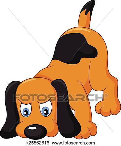 Cartone animato cane fiuto clip art k25862616 fotosearch