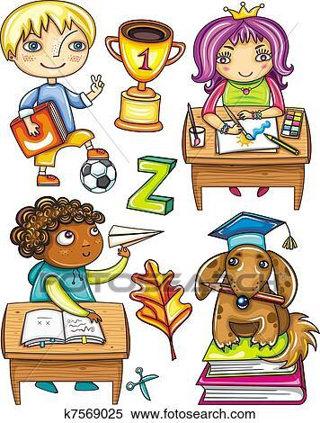 Schoolchildren Clipart - Png Download (#3110297) - PinClipart