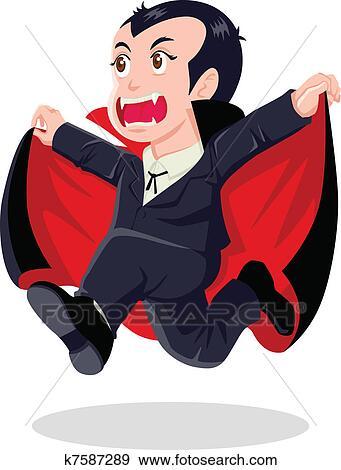 Dracula clip art k fotosearch