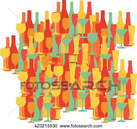 Provence Map Of France.Map Of France Provence Wine And Other Drinks Design Clipart K23215530