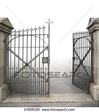 Open Gate Clipart