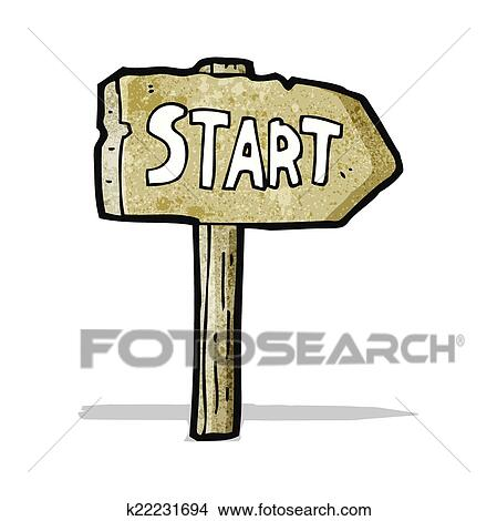 clipart of start symbol cartoon k22231694 search clip art rh fotosearch com star clipart transparent star clipart
