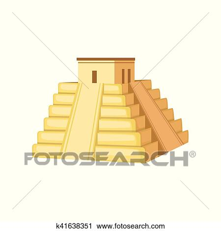 Clipart Of Indian Temple Mexican Culture Symbol K41638351 Search