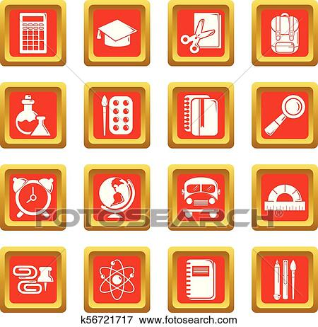 Red Orange Gradient Colored Fire Old Stock Vector (Royalty Free) 653342077