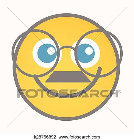 Clipart Of Bookworm Cartoon Smiley Vector K28766892 Search Clip