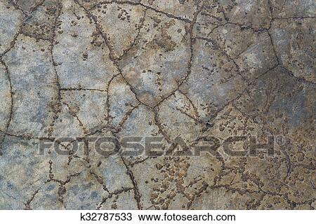 Stock Foto Poliert Alt Grauer Betonieren Boden Struktur