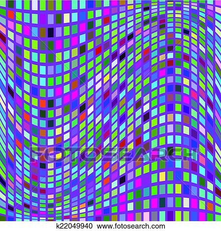 clipart vetorial mosaico coloridos geomã ricas fundo para