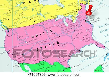 United States of America/ USA, Washington D. C - capital ...