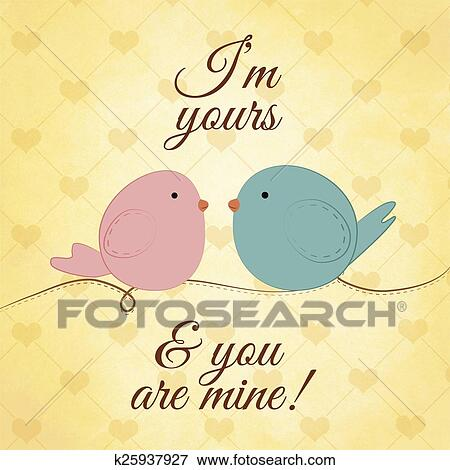 Stock Illustration - I'm yours. Fotosearch